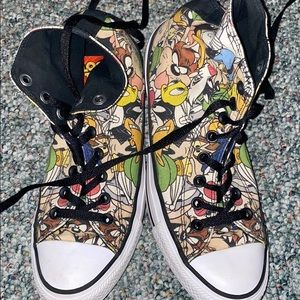 Converse limited edition Looney Tunes sneakers